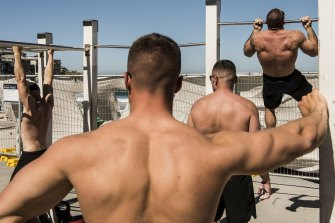 Patrons hoped the beach and outdoor gym would remain open.