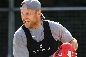 End of an era: Gary Ablett is in good shape as he prepares to call time on a decorated footy career.