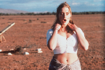 Winslet in a scene from Jane Campion's Holy Smoke!