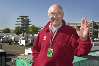 The late Murray Walker.