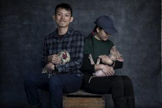 Singaporean couple Jocelyn Tan and Julian Lim are working on the farm.