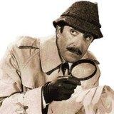 Peter Sellers as Inspector Clouseau.