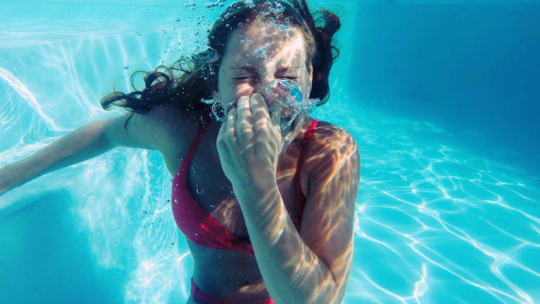 Sometimes life will make you feel like you're holding your breath under water. And that's okay, it will pass.