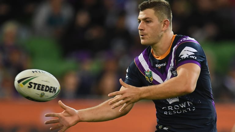 The Raiders are in talks with Storm halfback Ryley Jacks.