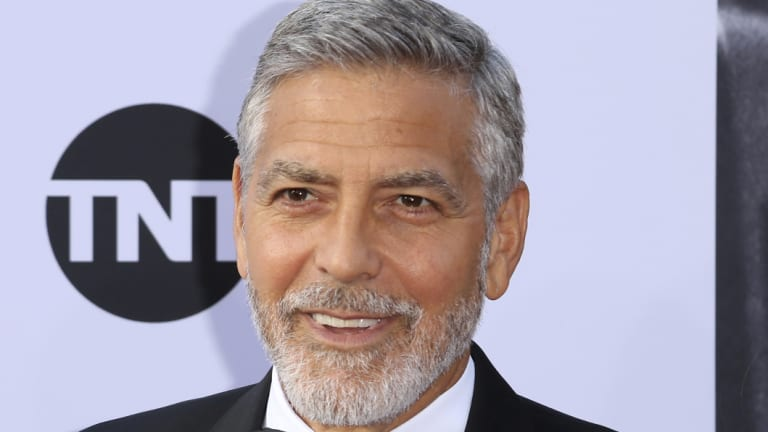 George Clooney was reportedly involved in an accident while riding a motorcycle in Italy.