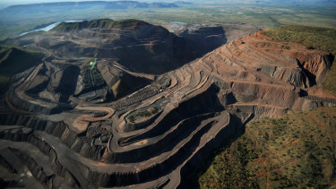 The Argyle diamond mine in Western Australia's far north.