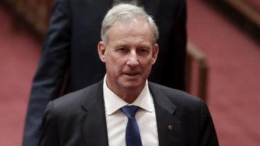 Sporting chance: Richard Colbeck backs Tasmania's bid for an AFL club.
