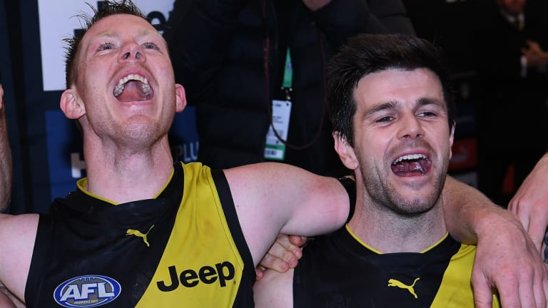 Jack Riewoldt has been a strong supporter of captain Trent Cotchin.
