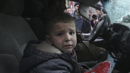 'One pound': simple idea provides morale boost for war-weary Syrians