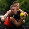 Mitchell, Patton impress during Hawthorn practice match
