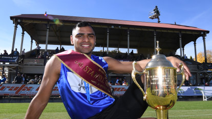 First time contestant Rodrigues-Chico wins Stawell Gift
