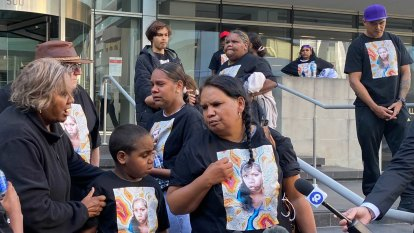 'They're still killing us': Angry scenes unfold outside Perth court after murder acquittal