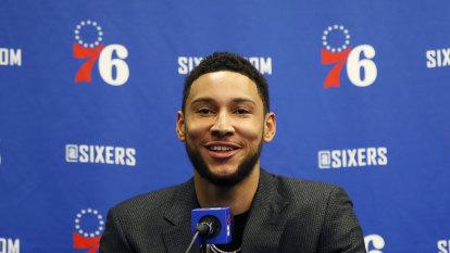 76ers' Simmons 'effectively 100 per cent' for restart