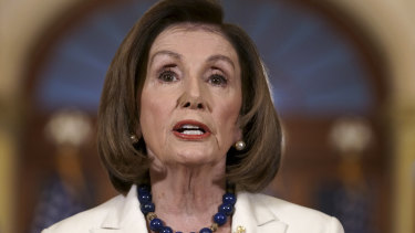 Nancy Pelosi announces that articles of impeachment will be drawn up against Donald Trump.