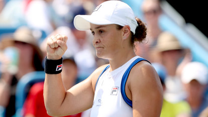 'Get over that hurdle': Barty primed for a US Open title assault