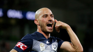 Big earner: Melbourne Victory marquee James Troisi.