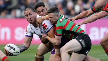 Souths boss Shane Richardson is furious Nelson Asofa-Solomona wasn't charged for an alleged chicken-wing tackle.