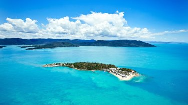 Daydream Island in the Whitsundays.