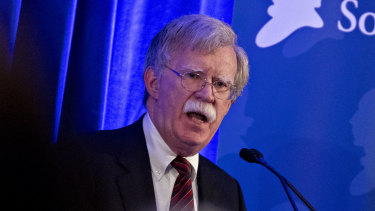 John Bolton, national security advisor.