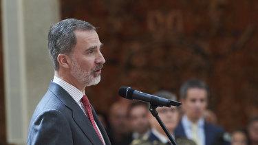 King Felipe VI of Spain has renounced his inheritance.