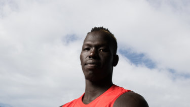 The Swans would prefer to play Aliir Aliir in defence instead of the ruck.
