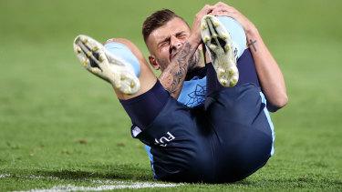 Sydney FC midfielder Chris Zuvela's knee injury is worse than first feared.