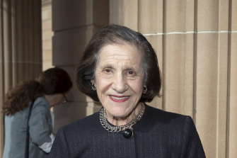 The Herald chose to highlight the fact Marie Bashir was a grandmother.