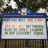 'One day will not unravel years of love': Queensland school's message after teacher stabbed