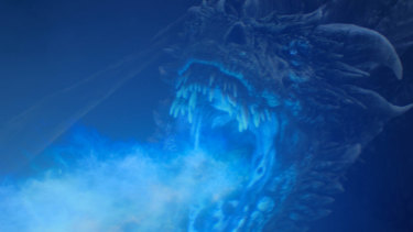 Whether it's hot or cold, you don't want to be on the receiving end of Viserion's blast.