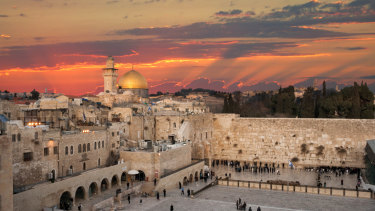 Jerusalem is considered holy to Islam, Judiaism and Christianity.