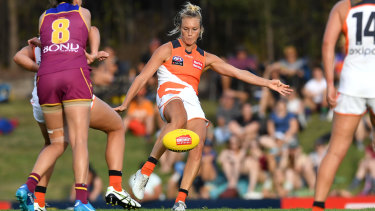 The Giants will be looking to improve their ball use when they face the Kangaroos at Drummoyne.