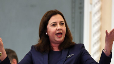 """Premier Annastacia Palaszczuk's comments during question time might be considered """"entirely inappropriate"""", the CCC said."""