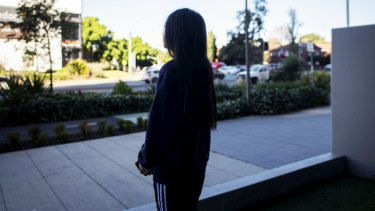 The woman, 20, was strip searched by police just over a year after she was sexually assaulted.