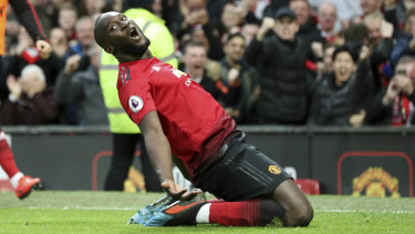 Romelu Lukaku has regained his scoring touch for the Red Devils.