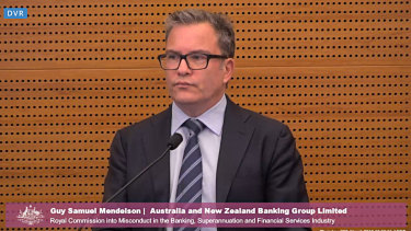 ANZ's Guy Mendelson said the bank had discovered during an internal investigation that one of its brokers had swapped the financial details of more than 90 customers with the financial details of the customers' guarantors of the loan.