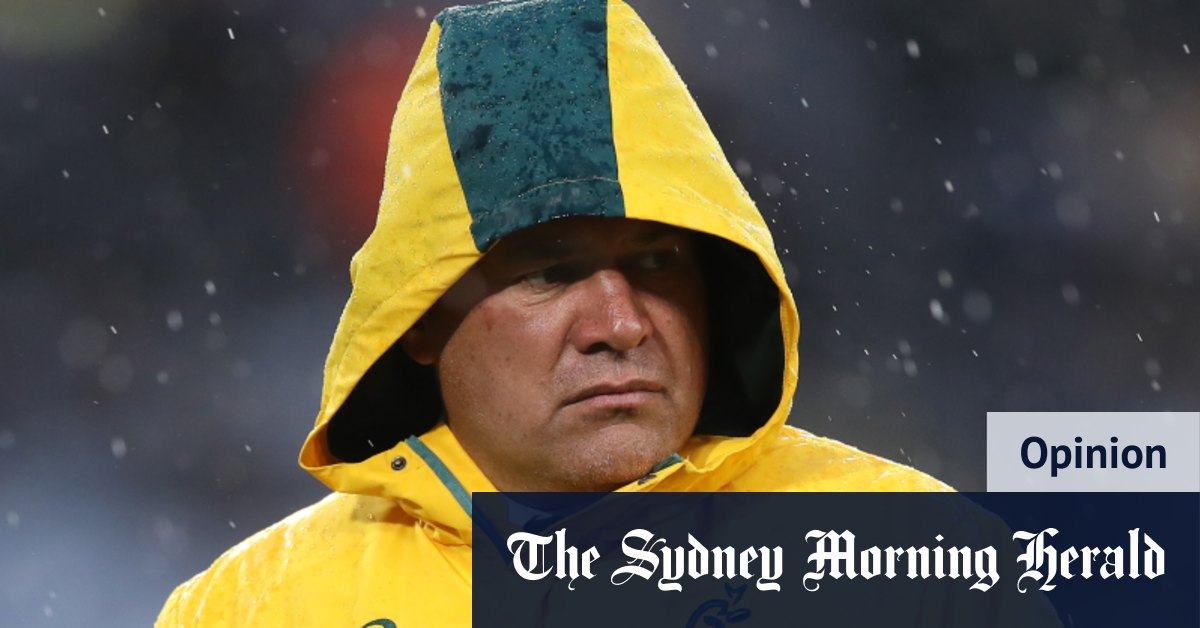 Mix and mismatch Wallabies a reflection of their standing and their coach – Sydney Morning Herald