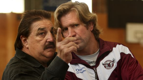 Des Hasler ready to take big haircut to return to Manly