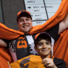 They came for a September romance, but Giants fans left without their fairytale ending