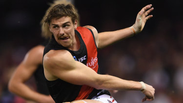 Joe Daniher was a late call-up for Essendon in round five.
