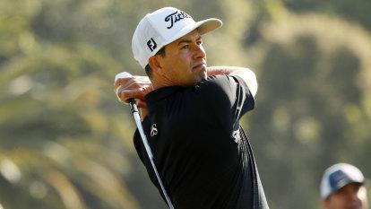 Adam Scott shares PGA Tour lead at Riviera
