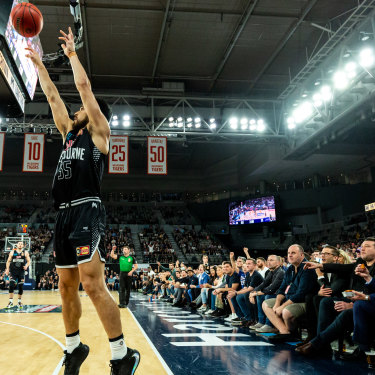 Hutchison is now part-owner of NBL team Melbourne United.