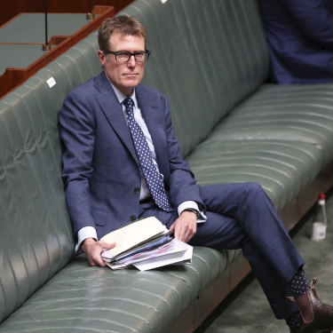 Attorney-General and Minister for Industrial Relations Christian Porter sued the ABC over its reporting. He discontinued the case almost two weeks ago.