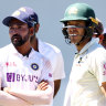Huge target a mark of respect for India on day when they deserved more