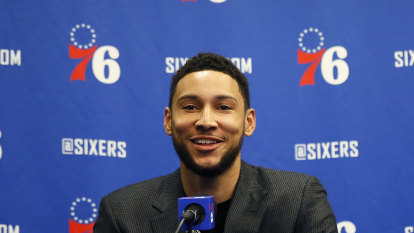 Ben Simmons to leave bubble for knee surgery with playoffs approaching