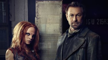 Grant Bowler stars in outlandish drama series Defiance.