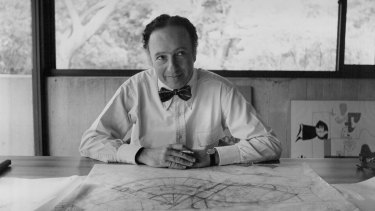 Groundbreaking Australian architect Harry Seidler.