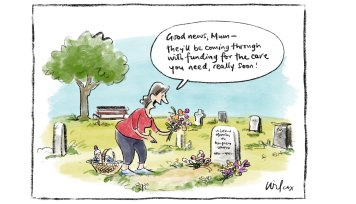 Illustration; Cathy Wilcox