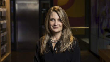 Optus boss Kelly Bayer Rosmarin said the upcoming spectrum auction is about ensuring a level playing field.