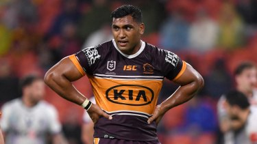 Tevita Pangai jnr has almost certainly played his final game with Brisbane