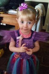 Georgia Collins, 2, was last seen in Hampton Park on Wednesday.